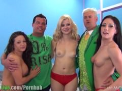 St.Patrick's pornstar orgy party! Vol.6