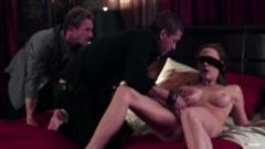 Wife Surprise Threesome After Blindfolde Massage