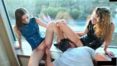 2 Naughty Austrian Chicks Creampied in Latex dr.mp4