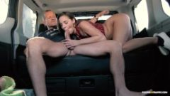 NEW Amirah Adara – Teen rides cabbie in the backseat Full HD (10.12.16)