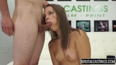 liza rowe casting – first time sex and deepthroat