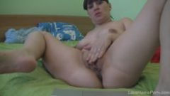 Alluring hottie touches her very experienced fuck hole