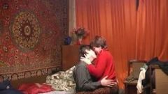 Russian young aunt with nephew 1