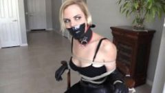 Chairtied Sweetie in Gloves