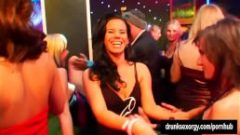 Excited pornstars fucking at casino party