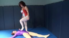 Goldie vs Mutiny Pantyhose Wrestling