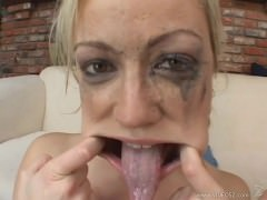 Adrianna Nicole – Gets Face Fucked Then Gargles And Swallows 4 Loads Of Cum