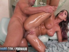 TwistysHard – August Ames gets oiled up and fucked