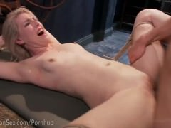 Blonde Gets Annihilated By Huge Cock