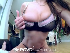 HD POVD – Dillion Carter with nice tits gets fucked in pov