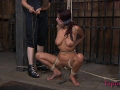 Pain Slut tortured By Dominatrix, Made To Squirt