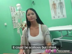 Love Creampie Doctor takes advantage of big boobs Czech woman in surgery