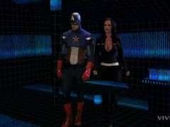 The Avengers , Maria Hill and Captain America