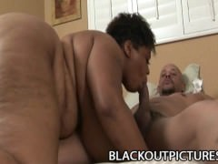 Madame Trixie – Fat Black Woman Hammered By Black Tattooed Cock