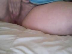 Katyannmilf Fingering my hairy pussy and Dildo Play
