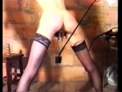 French chick gets hard BDSM