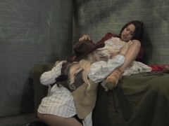 Luna Star gets Cuban pussy licked out by big titty lesbian sheriff!