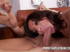 Tara Holiday and Sexy Vanessa fuck the mechanic