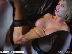 Brazzers – Hot milf Leigh Darby fucks sons friends