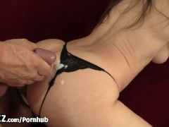 WANKZ – Hot Girl In Thong Picked Up and Fucked!