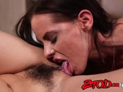 ZTOD – Brandy Aniston and Raven attack each others pussies