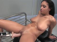 Aliana Love with sex machine