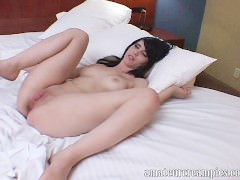 Sexy college girl gets creampied