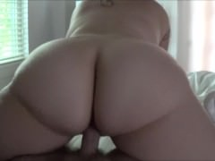 Wife's Tight Pussy and Perfect Ass Makes Me Cum Too Soon