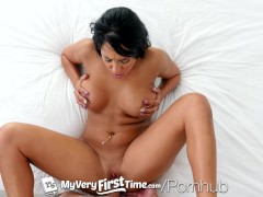 MyVeryFirstTime – Hot curvy Mila Houston gets her ass fucked