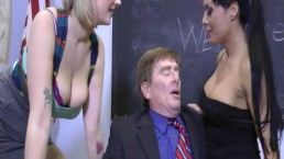Siri & Friend Beat Up a Guy with their Big Tits….