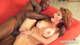 Joslyn James Takes the Black Cock No Holes Barred