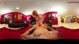 Look around 360 to see Nikki take care of your cock in every angle!