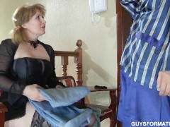 A guy and a Russian woman (Anal)