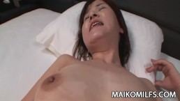 Chiho Fujii - JAV Cougar Wrinkled Pussy Fucked And CreamPied