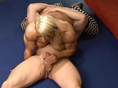 fbb with man voice fucks and cums like a stud