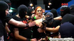 Extreme Bukkake – Dirty Mary the redhead Latex Queen