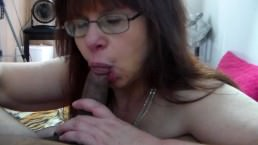 Cheating Mother Sucks First Black Dick Ever