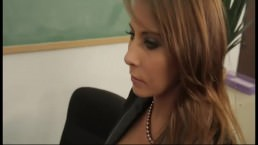 Madison Ivy is a busty brunette teacher