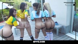 BFFS – Hot Soccer Chicks Fucked by Coach