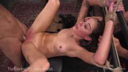 Bad Girl Gets Rough Anal Punishment