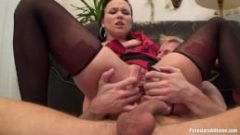 Boss Babe Anal Creampied