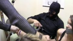 Two Girls Taped and Gagged